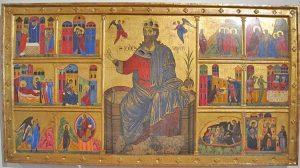 Malerei in der Pinakothek von Siena