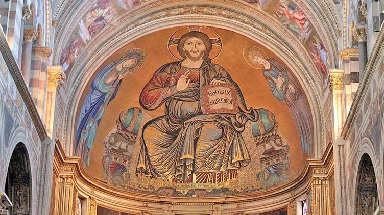 Christus im Dom zu Pisa