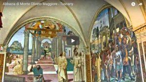 Die Abtei Monte Oliveto Maggiore