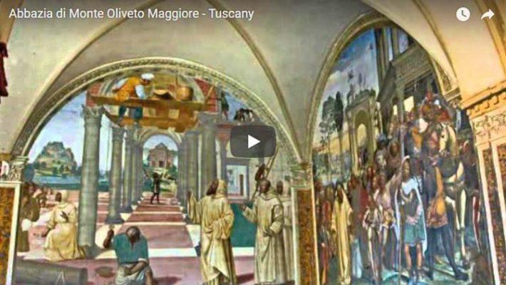 Abtei Monte Oliveto Maggiore in der Toskana