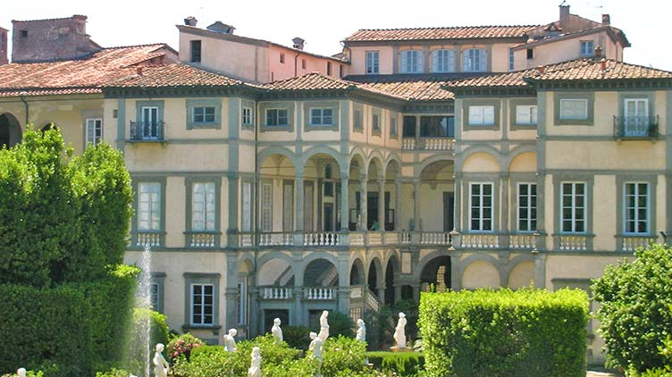 Palazzo Pfanner in Lucca