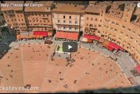 Piazza del Campo in Siena und das Palio